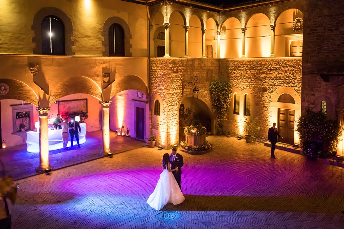Ceremony at Castello il Palagio