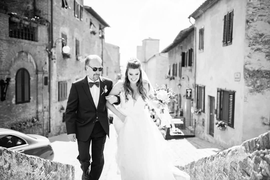 Exclusive venue for wedding in Tuscany