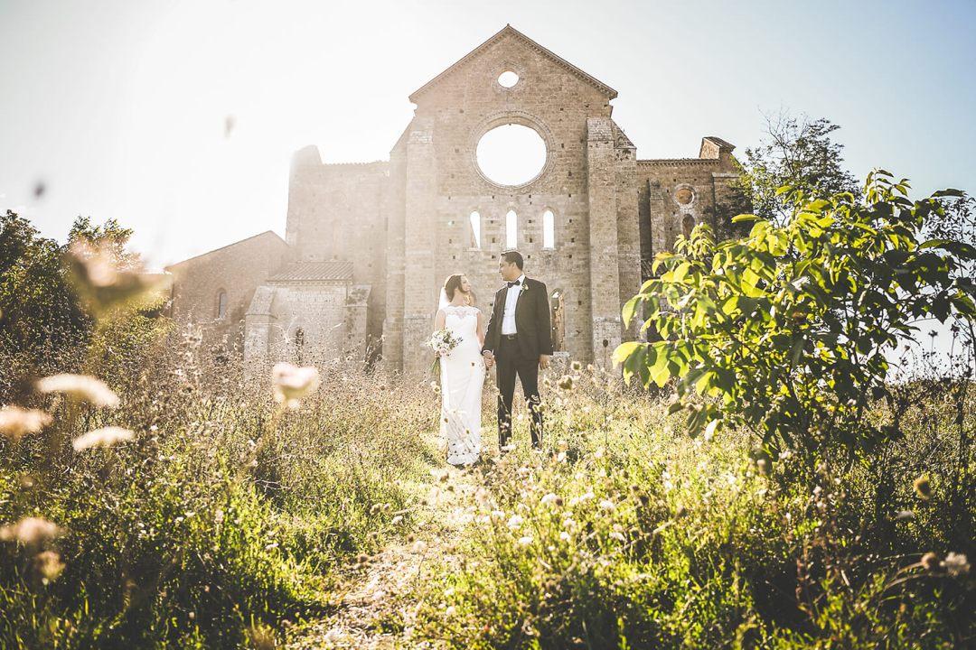 wedding in Tuscany countryside