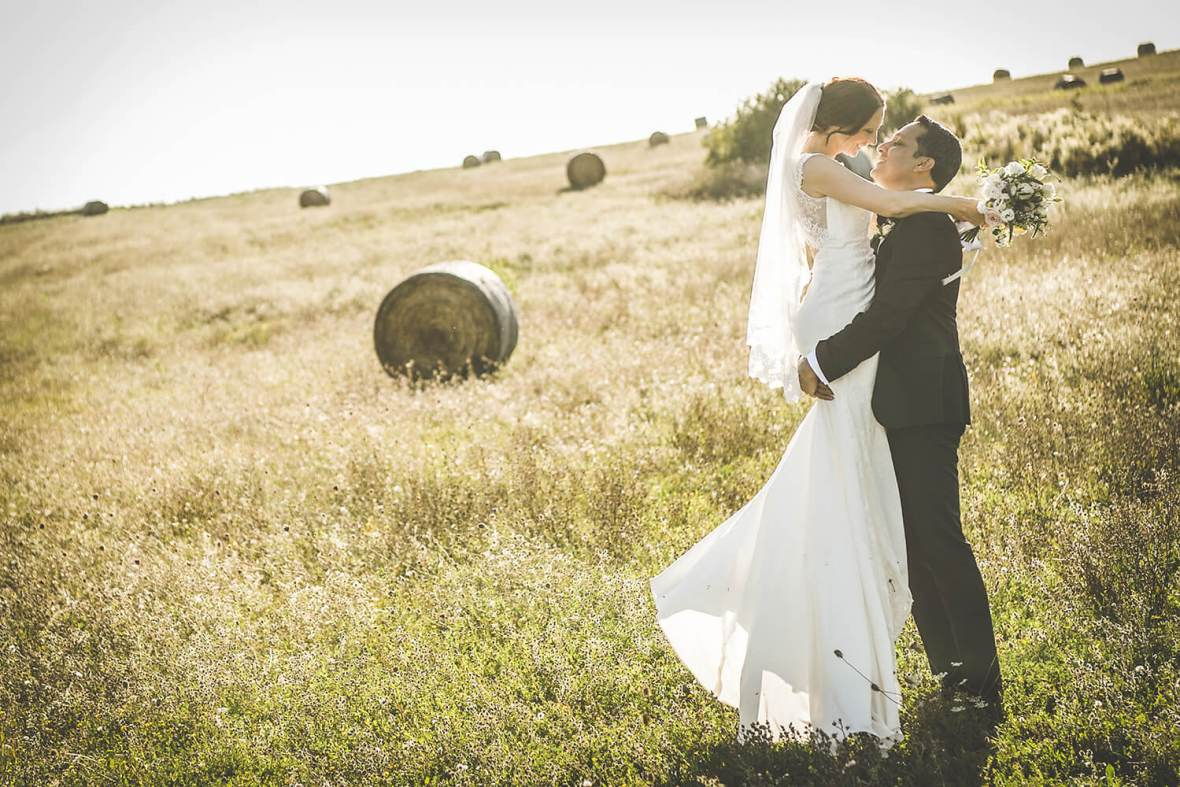 wedding under the Tuscany sun