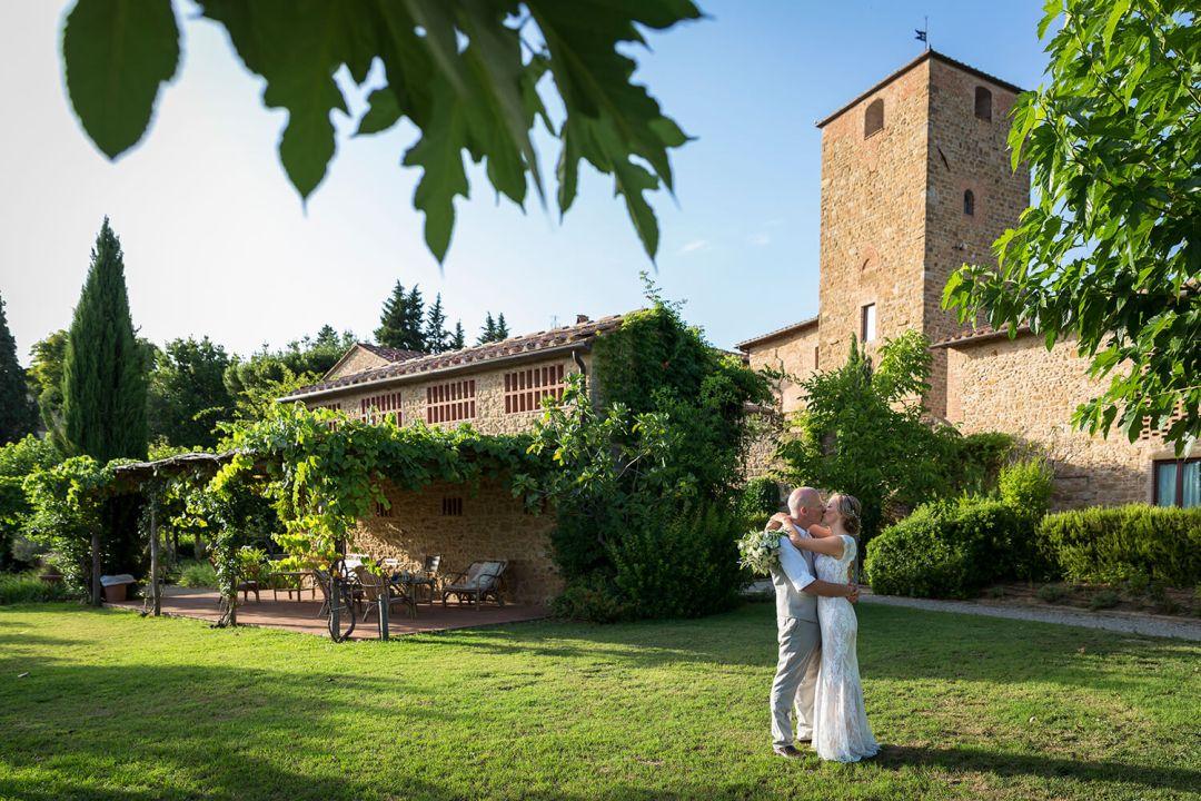 Italian farmhouse wedding