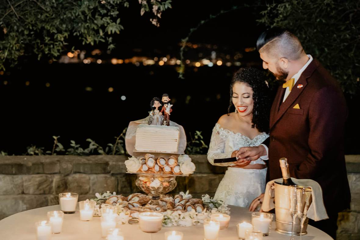 September wedding in Florence