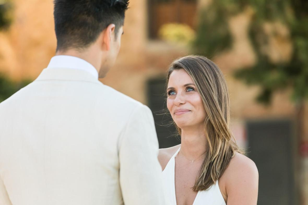 wedding ceremony in a Tuscan Castle