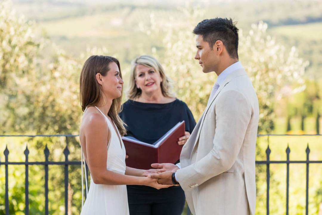 Wedding Ceremony in Tuscany