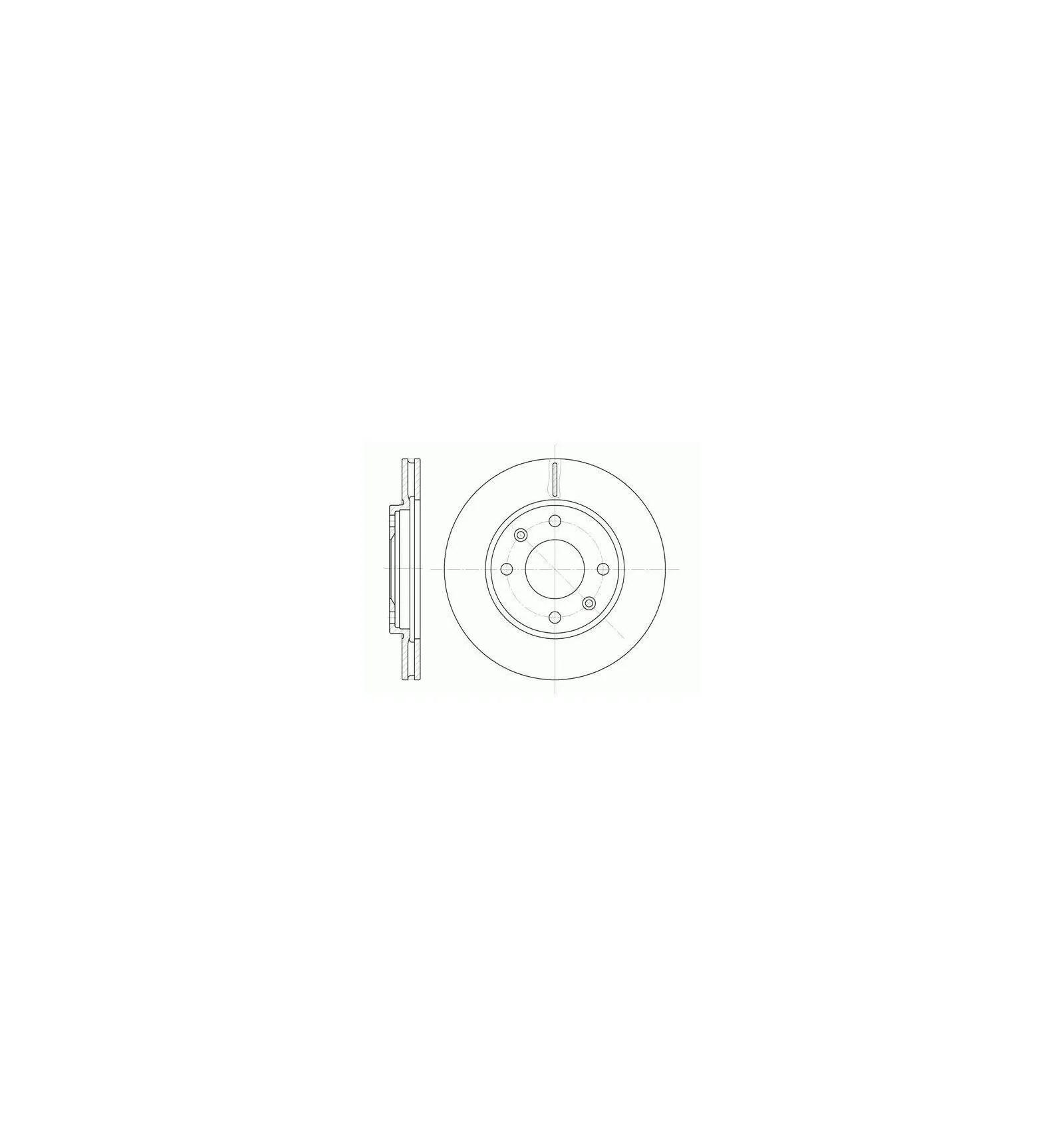 Disque de frein Disque de frein avant Citroen Ax Saxo Zx