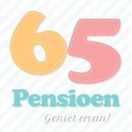 Verjaardagswensen 65 jaar pensioen
