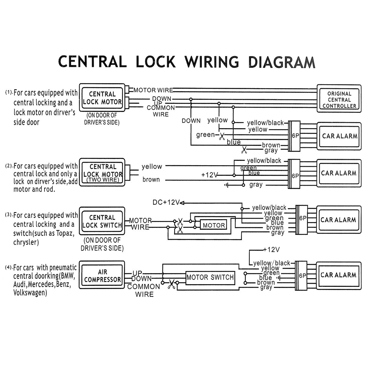hight resolution of audi alarm wiring diagram diagram data schema relay wiring diagram volkswagen alarm wiring diagram basic electronics