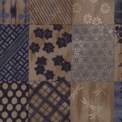 Indigo patchwork