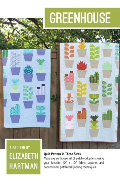 Greenhouse quilt af Elizabeth Hartman