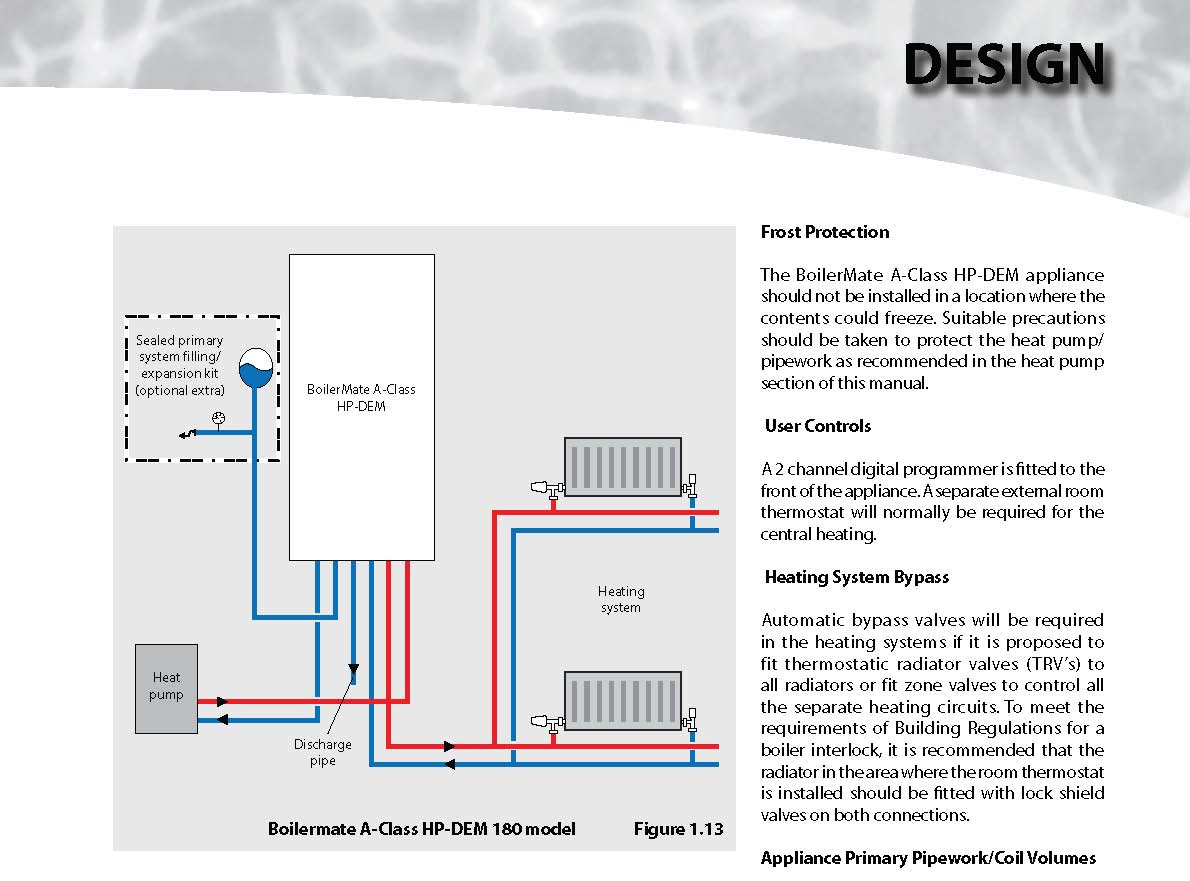 hight resolution of suitable precautions should be taken to protect the heat pump pipework as recommended in the