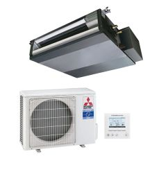mitsubishi electric air conditioning sez ka50vaq concealed ducted heat pump inverter 5kw 17000btu a  [ 1400 x 1400 Pixel ]