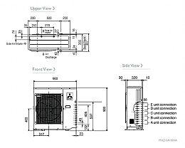Mitsubishi Electric Air Conditioning MXZ-5D102VA Multi