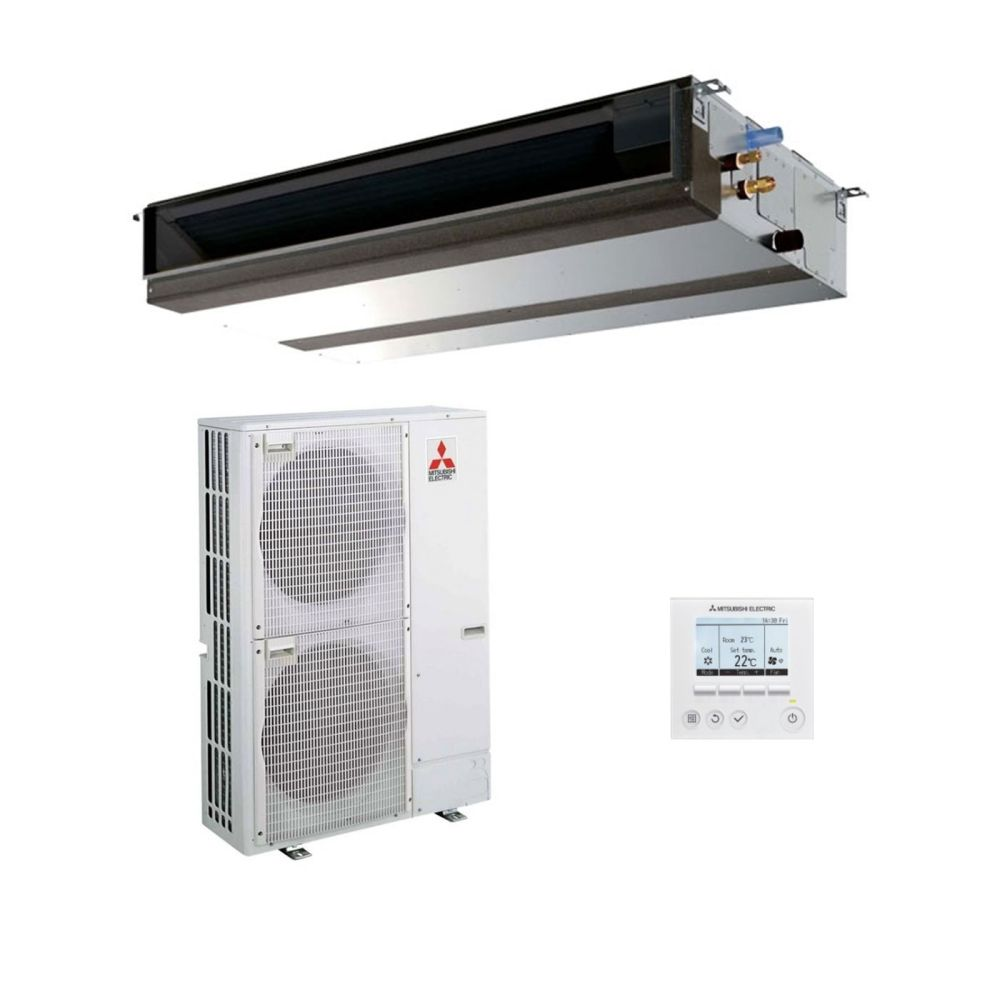 medium resolution of mitsubishi electric air conditioning pead m125ja ducted concealed inverter heat pump 12 5kw 42000btu