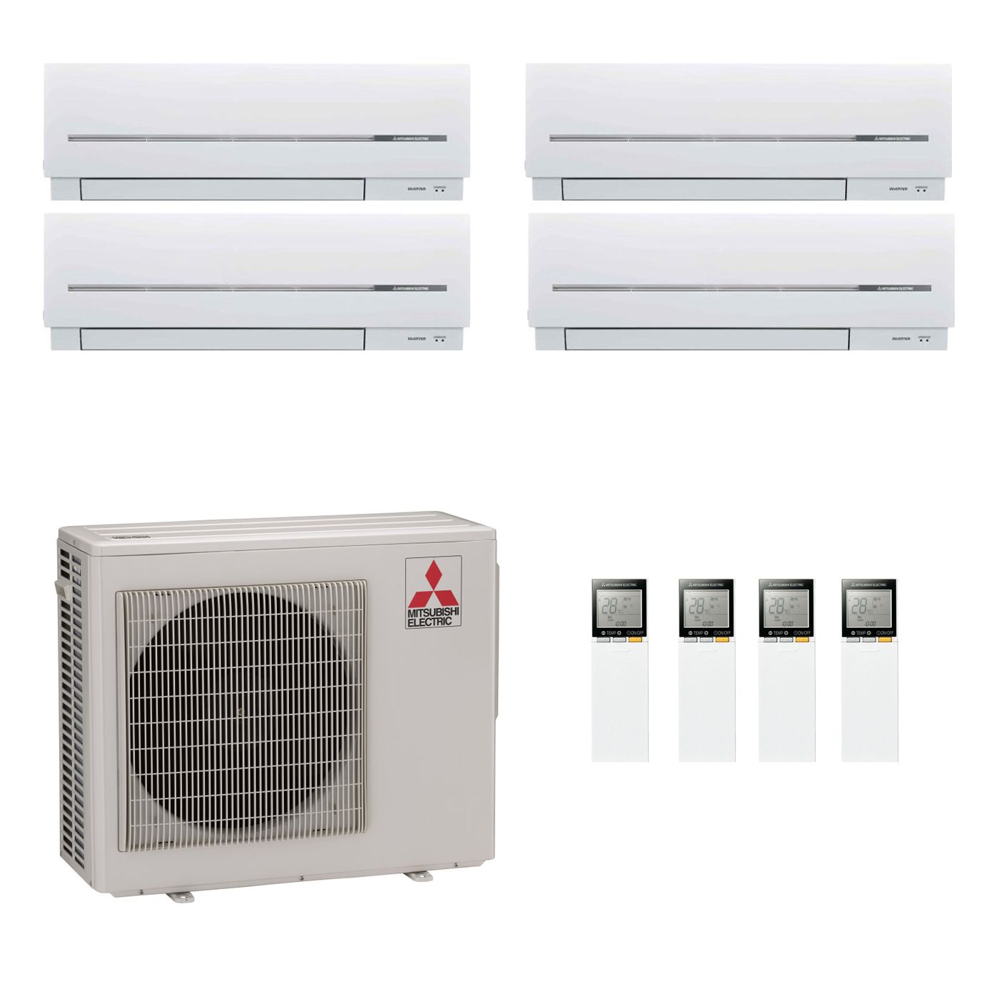 hight resolution of mitsubishi electric air conditioning mxz 5d102va 2 x 3 5 kw 2 x 5 0 kw