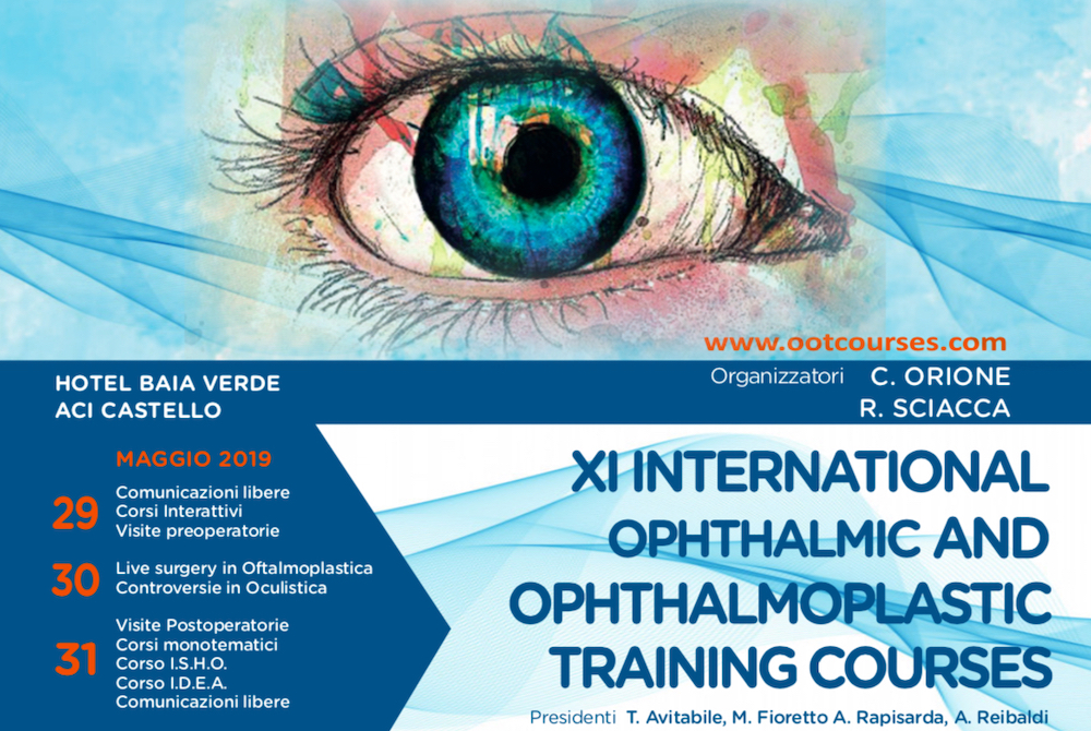 xi international ophthalmic and ophthalmoplastic training courses header