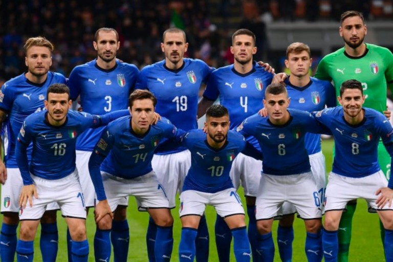 vorrei vedere l'italia in finale agli europei