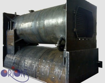 Industrial heat exchanger