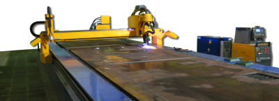 Plasma cut table