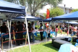 Annual Resident Appreciation BBQ for Lakeview Apartments in Fremont