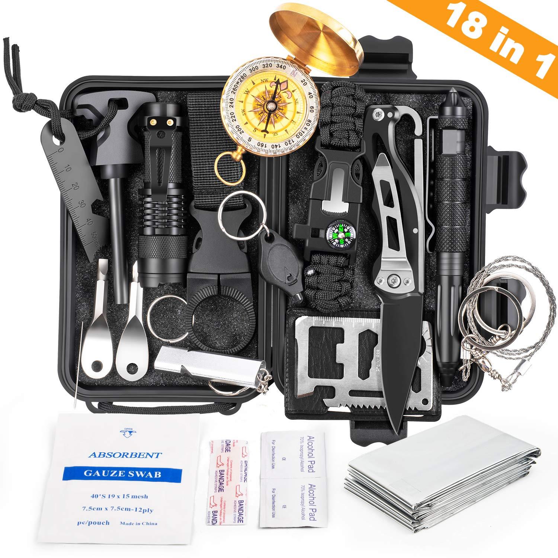 Kosin Survival Gear 18 In 1 Emergency Survival Kit Review