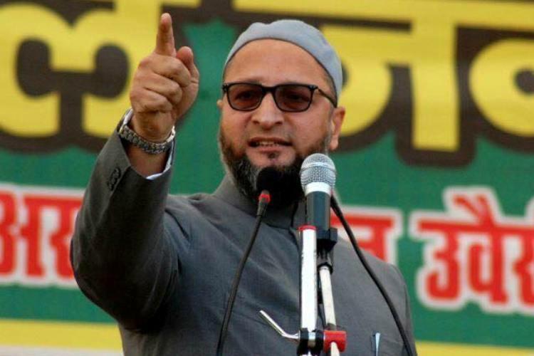 All India Majlis-E-Ittehadul Muslimeen (AIMIM) chief Asaduddin Owaisi. (File pic)