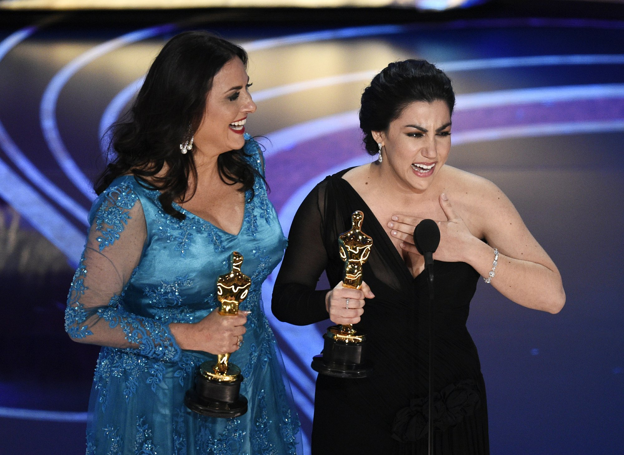 India Shines At Oscars Period End Of Sentence Wins Documentary Short Subject