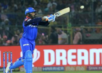 Pant hit five sixes in his 21-ball-49 as he guided Delhi Capitals to a two-wicket victory in the IPL Eliminator against Sunrisers Hyderabad, Wednesday.