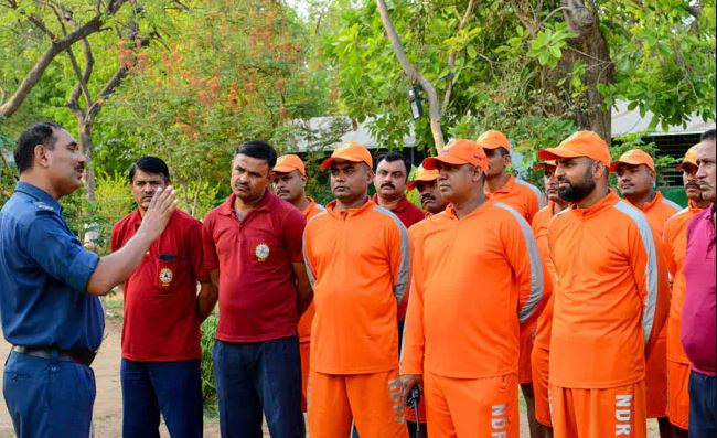 Around 36 companies of the National Disaster Response Force (NDRF) are already assisting the local administration in the process.