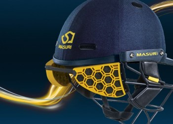 Helmets with neck guards