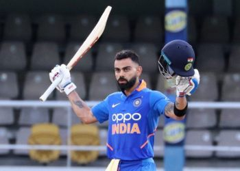 Wednesday, Kohli scored his second consecutive century to help India beat West Indies by six wickets in the third and final ODI of the three-match rubber.
