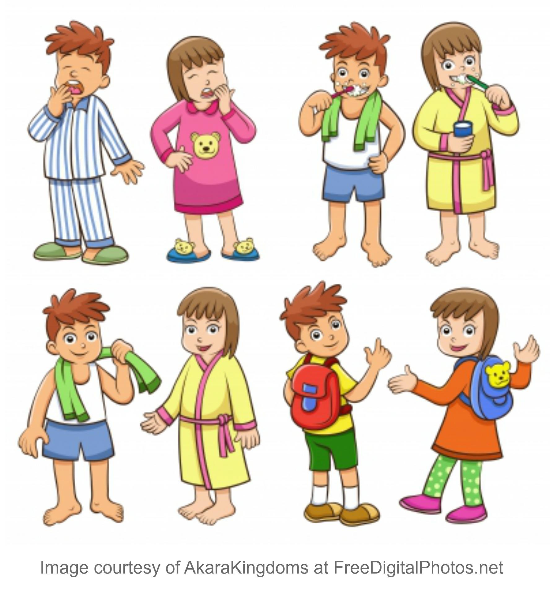 Self Help Kindergarten Self Help Skills
