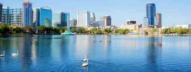 Lake Eola Park City Of Orlando