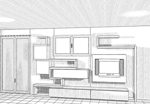 disegno esclusivo  progettazione di interni  arredamenti a misura  sviluppo in pianta