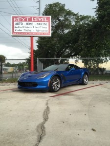 Passport 9500 with front diffusers for 2015 Chevrolet Z06 Corvette.