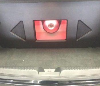 custom stereo box Acura