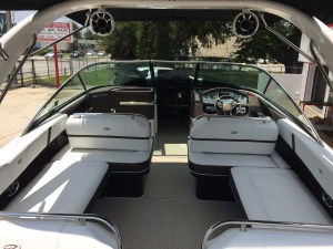 Wetsounds Rev 8 tower speakers installed on Regal Bowrider.