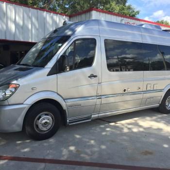 custom interior sprinter van