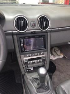 Touch screen connection porsche