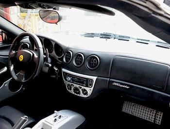 Ferrari 360 spider speakers
