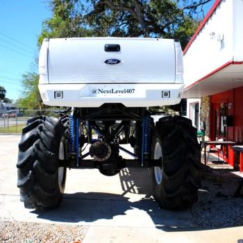 custom bumper for rear lights