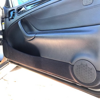 Upgraded door side speaker