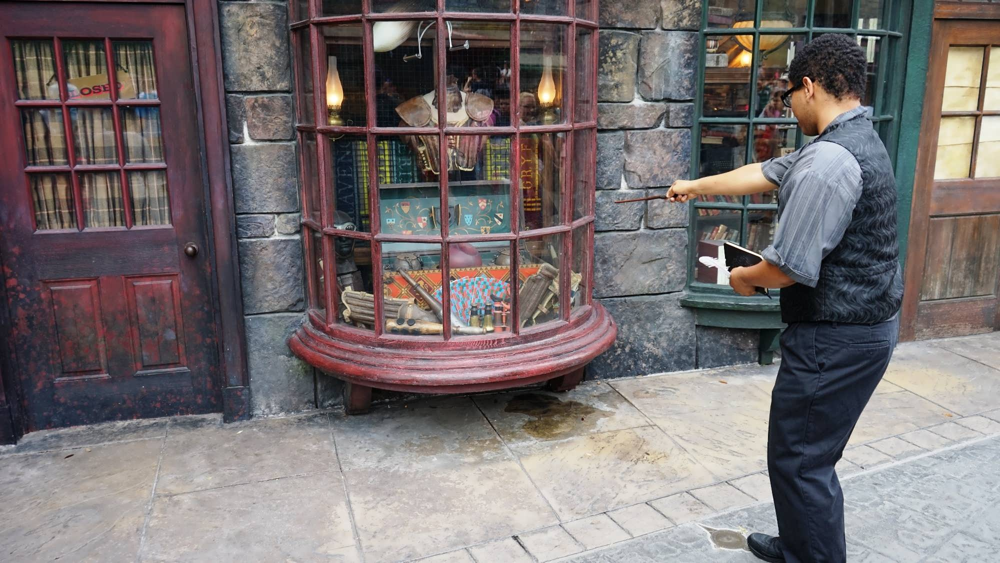 interactive wands spell casting