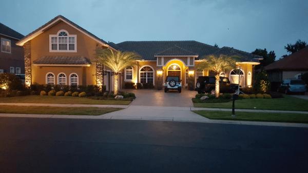led outdoor lighting residential