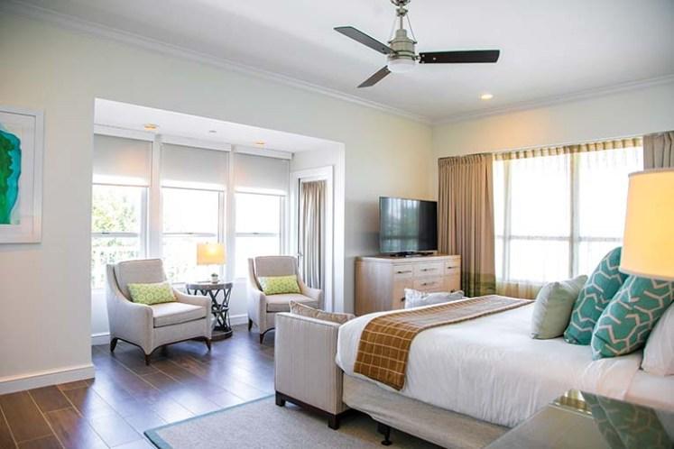 Coastal Penthouse Master Bedroom
