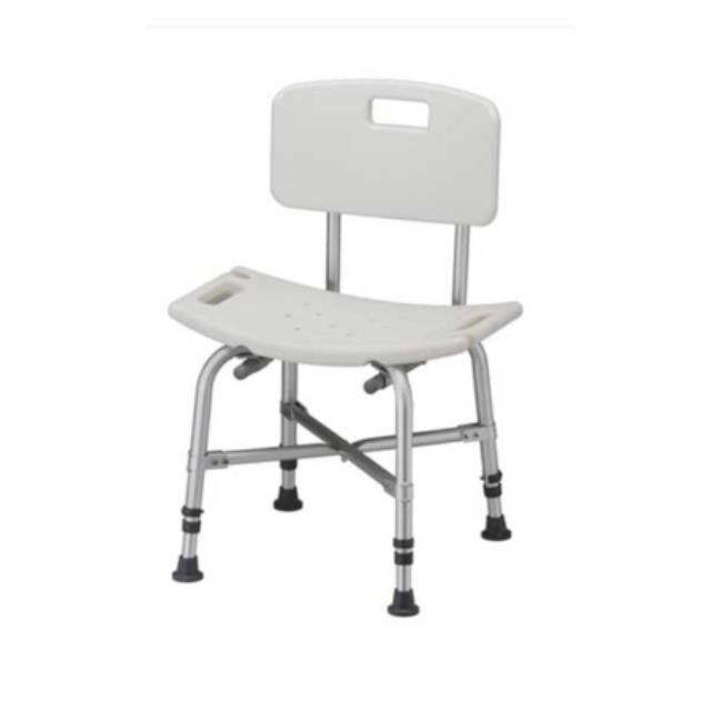 stationary shower chair up