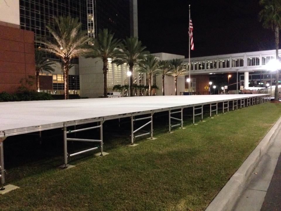 Tent Flooring Rental  Orlando Stage Rental  Rent