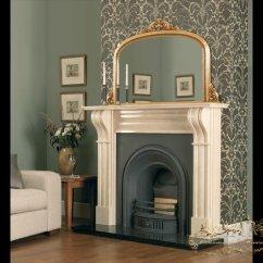 White Contemporary Living Room Grey Corner Sofa Ideas Gold Overmantel Mirrors