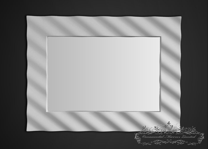 framed wall art for living room how to place area rug in small corrugated modern gloss mirror from ornamental mirrors limited
