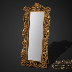 Big Living Room Mirrors Country Furniture Images Emperor Gold Free Standing Full Length Mirror