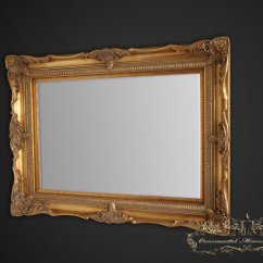 Modern Living Room Mirrors Uk Suite Classic Gold Ornate Mirror From Ornamental Limited